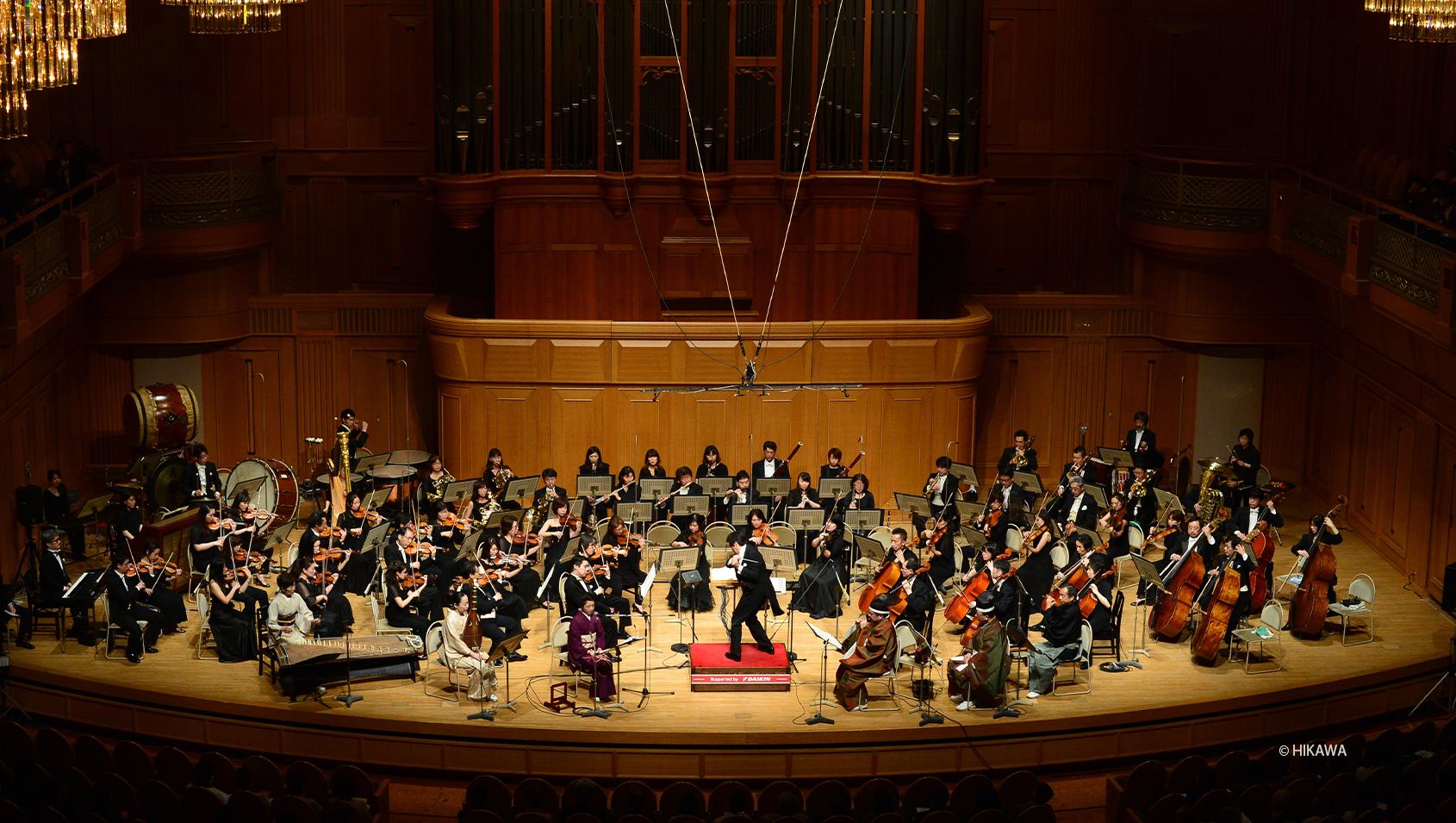 冨田勲・源氏物語幻想交響絵巻<br>Orchestra recording version