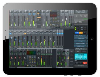 TotalMix FX for iPad™ App