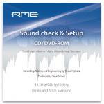 RME SoundCheck CD/DVD